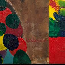 lot 122 acrylic on canvas painting by hector ledesma dominican republic 1962
