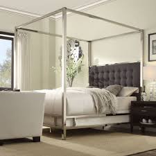 Solivita Queen-size Chrome Metal Poster Bed by iNSPIRE Q Bold by iNSPIRE Q