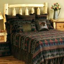 log cabin bedding sets lodge style quilts log cabin quilt patterns set wooded river bear bedspread sets racks bedrooms lodge style quilts neutral log cabin