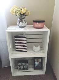 Next Childrens Bedroom Accessories One Nightstand Next To My Beddiy Crates From Michaels For The