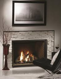 zero clearance direct vent gas fireplace with log set