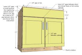 shaker cabinet doors dimensions. ana white | kitchen cabinet sink base 36 full overlay face frame - diy projects shaker doors dimensions y