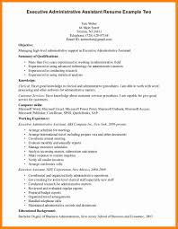 Resume Summary 100 Good Resume Summary Resume Type 50