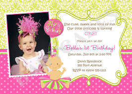 baby birthday invitation wording