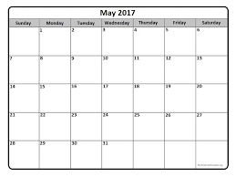 may 2017 calendar may 2017 calendar printable