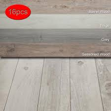 details about 16 pcs vinyl floor planks adhesive floor tiles 2 0mm thick easy installation