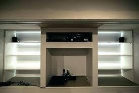 glass shelf lighting. Under Shelves Lighting Glass Shelf