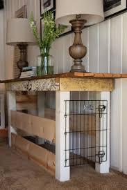 My Sweet Savannah: ~table turned dog kennel~