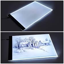 Walmart Light Pad Ejoyous Led Light Pad A4 Led Slim Art Craft Drawing Tracing Tattoo Light Box Pad Board Lightbox