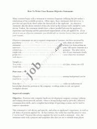 Non Specific Resume Objective Examples Resume Objective Examples Non Specific Danayaus 15