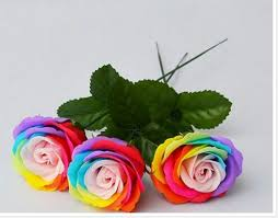 Valentines Day Gifts Unique Aliexpress Buy 48pcs Valentine's Day Colorful Soap Flower Rose