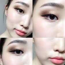 asian makeup looks asian eye makeup korean makeup mono lid eye makeup