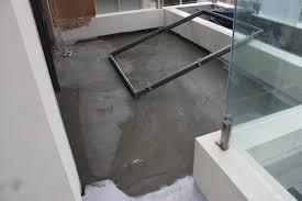Screeding Bathroom Floor Frustration Of Rain On Tile Screed With Exposed Balconies Efflock