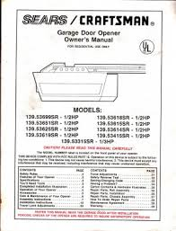linear garage door opener manualHow To Reset Craftsman Garage Door Opener On Garage Door Springs