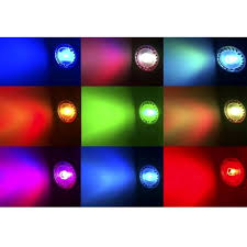 Dimmable <b>E14</b> RGB <b>Spotlight LED</b> Bulb Light 16 Colors Change 85 ...