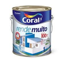 Uso indicado, o produto foi desenvolvido tanto para ambientes internos como externos. Chatuba Tinta Acrilica Rende Muito Amarelo Frevo 3 6l Coral Chatuba