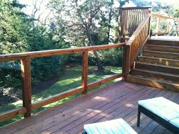 tempered glass deck railing 41405894 934 jpg outdoor