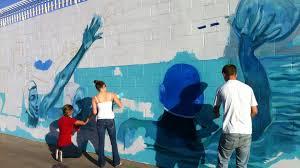Buena High Aquatic Sports Mural