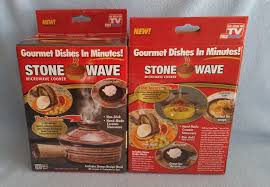 Stone Wave Dessert Recipes Seen On Tv Stone Wave Microwave Cooker Brand New In The Box Recipe