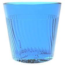 belize 8 oz blue polycarbonate plastic tumblers 12 pack main picture