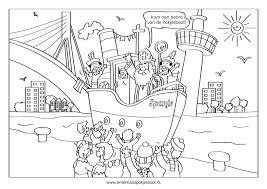 78 Stoer Sinterklaas Kleurplaat Pakjesboot Nethra Imaging Beste