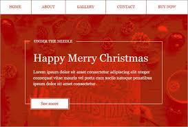 Free Christmas Website Templates Amazing Latest Html Christmas Website Templates