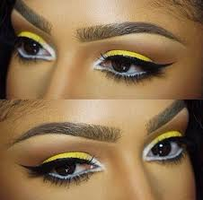 yellow eyeshadow on brown skin if you haven t tried it your missing out