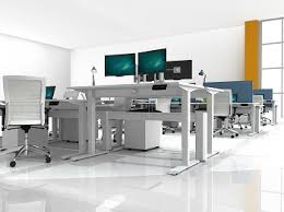 office desk solutions. Custom AMQ Solutions Furniture Office Desk F