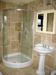 Bathroom : Bathroom Small Ideas With Shower Only Blue Wallpaper ...