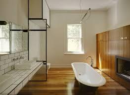 Small Bathroom Wood Floor