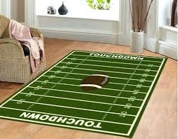 the latest football field area rug awesome kid on in ordinary meter square foot acre large