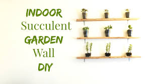 diy succulent wall decor how to make an indoor succulent garden wall art diy minimalis on