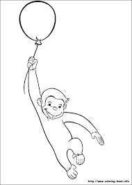 curious george coloring book index curious george reading a book coloring pages