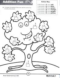 beaver books color by number for colour worksheets for grade 1 colouring worksheets for cl 1