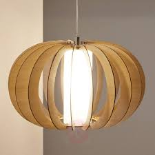 brown wooden pendant light stellato 3031895x 01