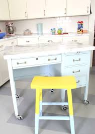 Desk In Kitchen Desk 7 Diy Kitchen Islands To Really Maximize Your Space Real