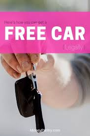 13 Ways to Get a Free (Donated) Car - MoneyPantry