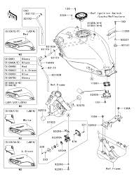 2012 kawasaki ninja 250r ex250jcfa fuel tank parts best oem fuel tank parts diagram for 2012 ninja 250r ex250jcfa motorcycles