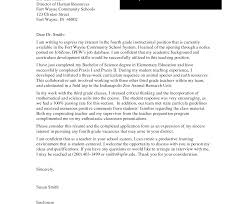 Resume And Sample Cover Letters For Teachers The Personal Bunch