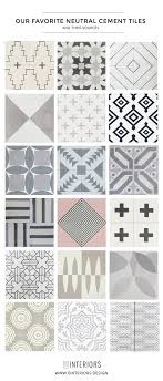 Tiles With Designs On Them Where To Buy Cement Tiles Our Favorites Cement Tiles
