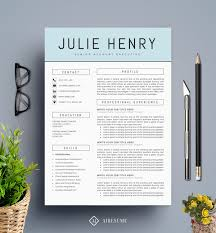 Modern Graphic Resume Template Modern Creative Resume Under Fontanacountryinn Com