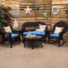 black wicker furniture. Erwin Sons Aruba Collection Black To Wicker Furniture