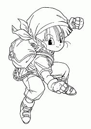 Pan Personaggio Femminile Del Cartone Animato Dragon Ball Gt Disegno