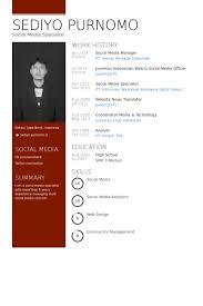 Social Media Manager Resume samples