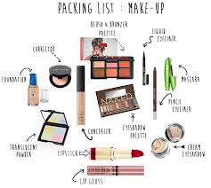 slashed beauty ping list for makeup beginners