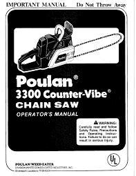 Poulan Spark Plug Chart Poulan Chainsaw Gas Manual L0808198