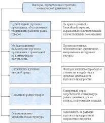 Коммерческая деятельность в розничных торговых предприятиях Рис 1 3 Модель формирования стратегии коммерческой деятельности торгового предприятия