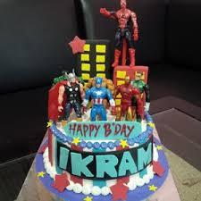 Jual Kue Ultah Avenger Harga Murah Jakarta Oleh Khena Cake
