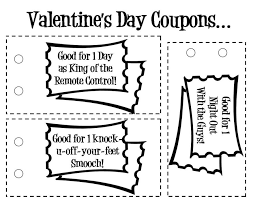 Printable Homemade Coupons 15 Sets Of Free Printable Love Coupons And Templates