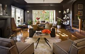 brown living room. Simple Living Modern Brown Living Room Shiny Walls Homy Home Prev Inside Brown Living Room